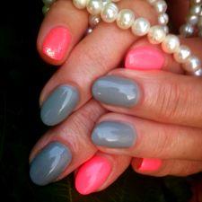 Pink & Gray + Efekt Syrenki